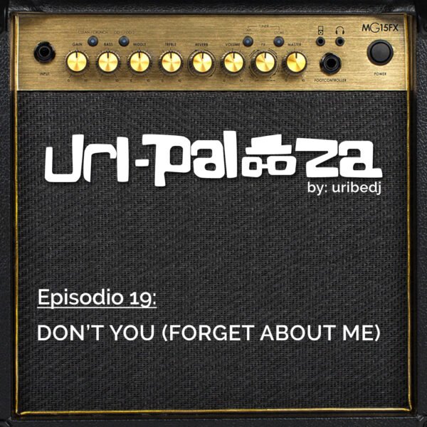 ícono podcast uripalooza Delorean Dont You Forget About Me