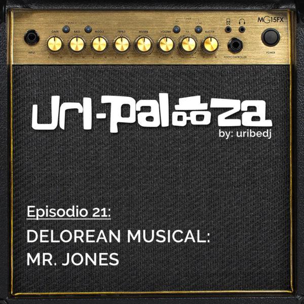 ícono podcast uripalooza Delorean Mr Jones