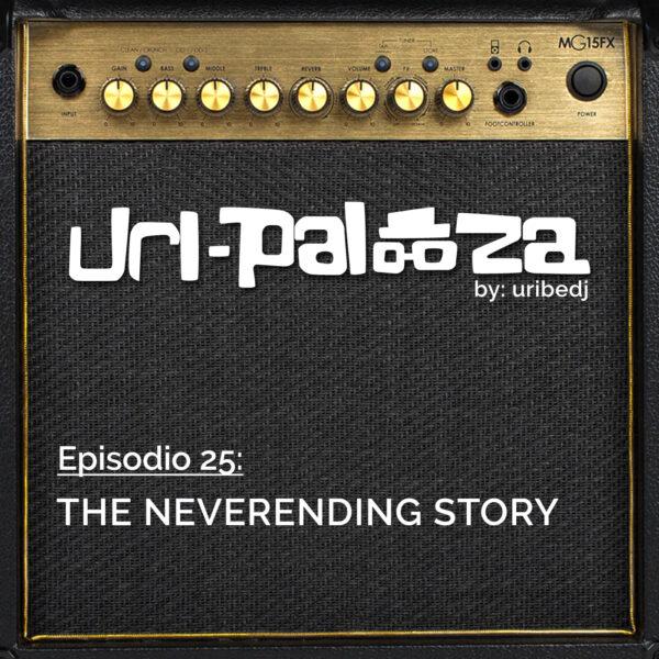 ícono podcast uripalooza Delorean The NeverEnding Story
