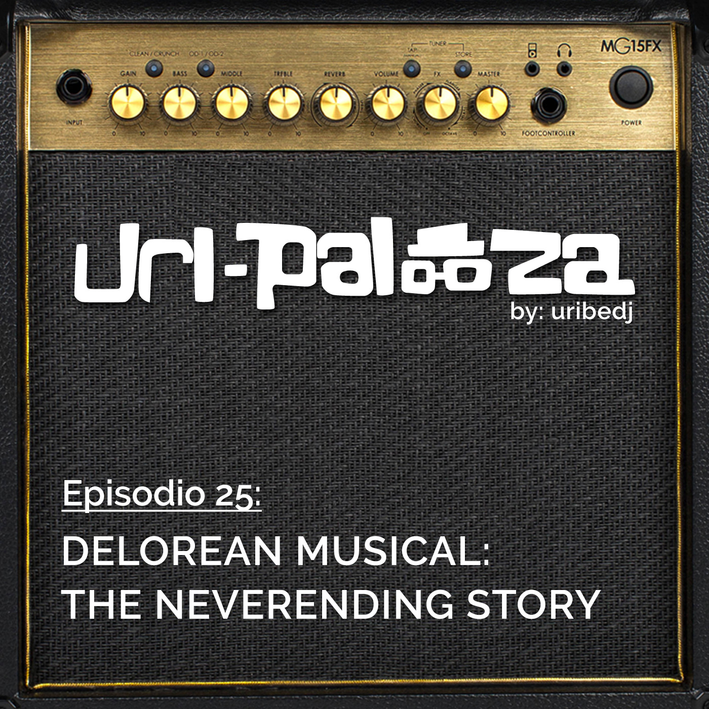 ícono podcast uripalooza Delorean The NeverEnding Story