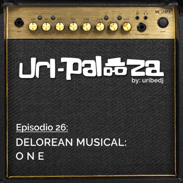 ícono podcast uripalooza Delorean One
