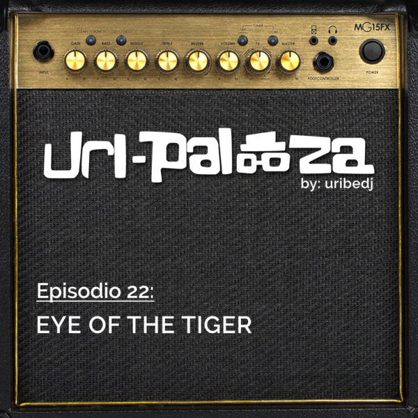 ícono podcast uripalooza Delorean Eye Of The Tiger