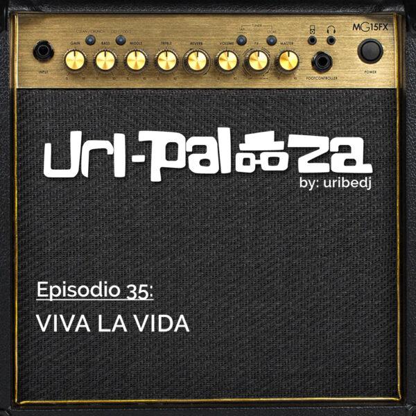 ícono podcast uripalooza Delorean Viva La Vida