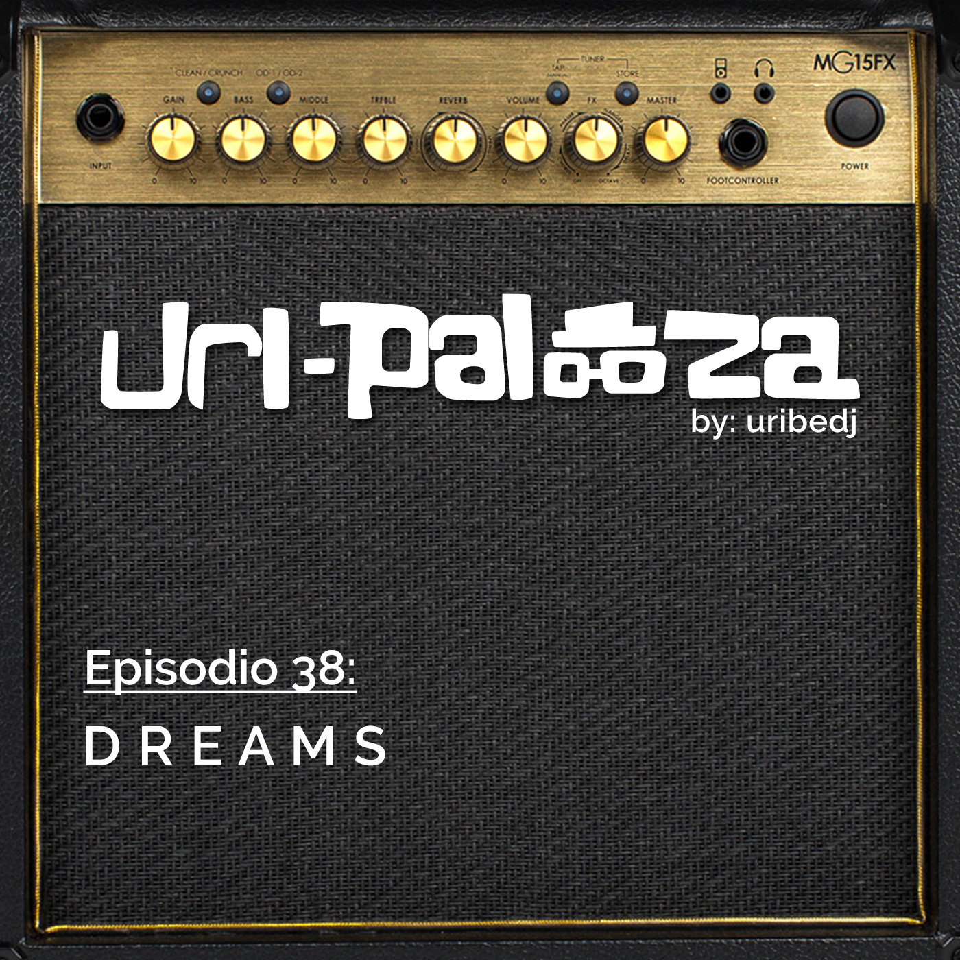 ícono podcast uripalooza Delorean Dreams