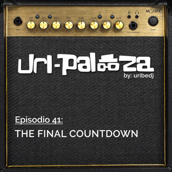 ícono podcast uripalooza Delorean The Final Countdown